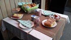 Ontbijtarrangement